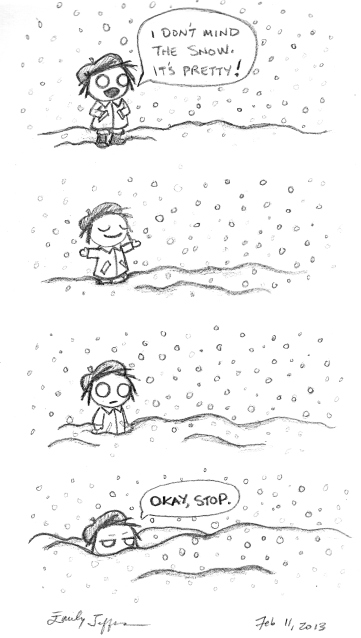 Snow - 11 Feb 2013
